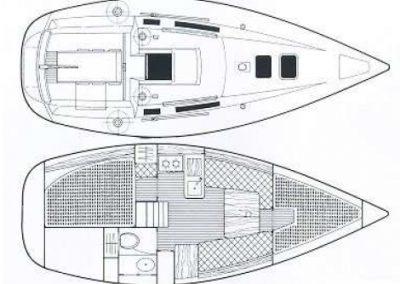 rumboaltea excursiones velero interior
