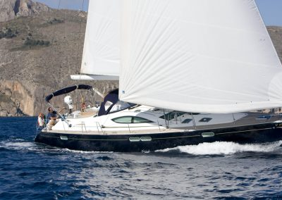 Rumboaltea Sun Odyssey 54 SD navegando 2