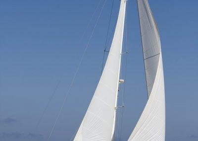 Rumboaltea Sun Odyssey 54 SD navegando