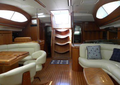 Rumboaltea Sun Odyssey 54 SD salón 2